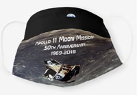 Historic Apollo 11 Cloth Face Mask