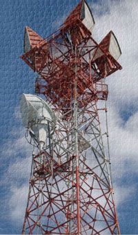 Challenging microwave communications tower jigsaw puzzle.